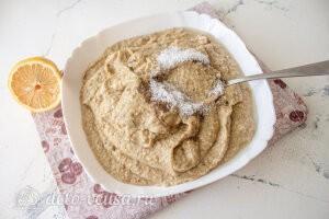 Бабагануш из баклажанов с кунжутом: Добавляем специи и доводим пасту до нужного вкуса