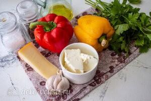 Фаршированные перцы с сыром в духовке: Ингредиенты