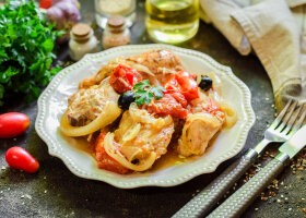 Рецепт курица по-провански в рукаве