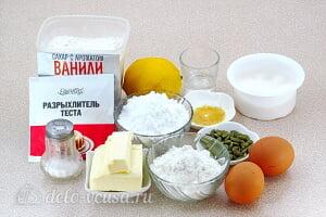 Лимонное печенье с глазурью: Ингредиенты