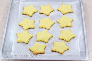 Лимонное печенье с глазурью: Выпекаем печенье до готовности