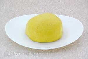 Лимонное печенье с глазурью: Замешиваем тесто