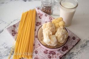 Паста с соусом из цветной капусты: Ингредиенты