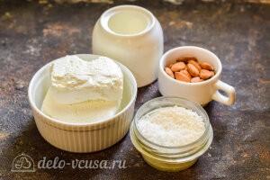 ПП «Рафаэлло» из творога и кокосовой стружки: Ингредиенты
