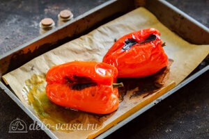 Запекаем болгарский перец до мягкости в духовке