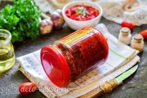 Салат из свеклы «Пальчики оближешь» на зиму готов