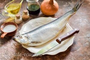 Сельдь маринованная в соевом соусе: Ингредиенты