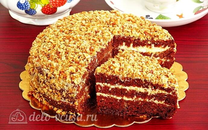Шоколадный торт на кефире «Особый повод»