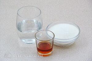 Шоколадный торт на кефире «Особый повод»: Готовим ингредиенты для сиропа
