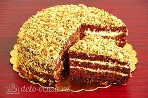 Шоколадный торт на кефире «Особый повод» готов
