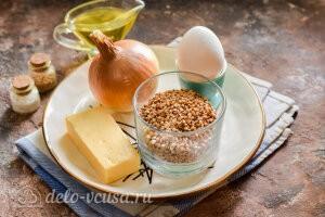 Сытные котлеты из гречки с сыром: Ингредиенты