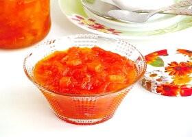 Рецепт варенье из тыквы с курагой на зиму