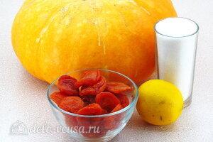 Варенье из тыквы с курагой на зиму: Ингредиенты