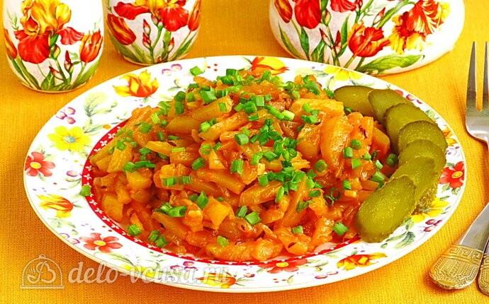 Картофельное рагу по-литовски