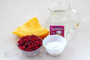 Компот из тыквы с клюквой: Ингредиенты
