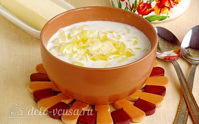 Молочный суп по-могилёвски