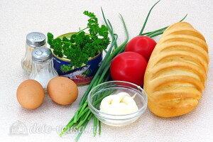 Бутерброды из рыбных консервов «Сказочные»: Ингредиенты