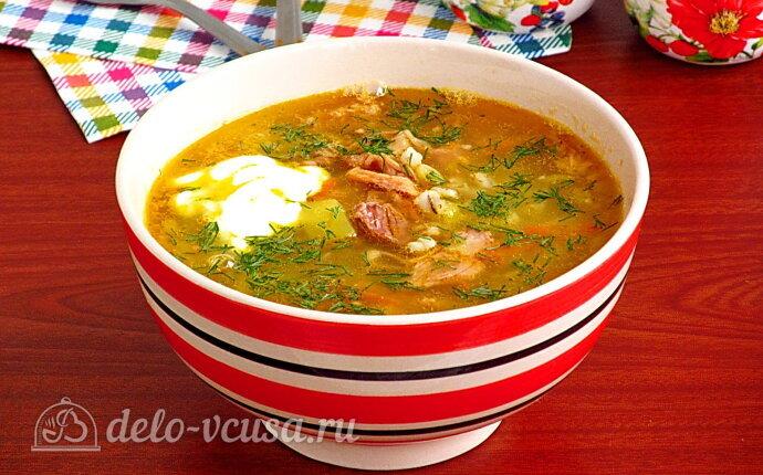 Гороховый суп «Солдатский» с тушенкой