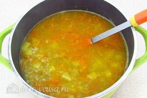 Солдатский гороховый суп с перловкой: Варим суп