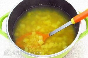 Гороховый суп «Солдатский» с тушенкой: Варим суп 10 минут