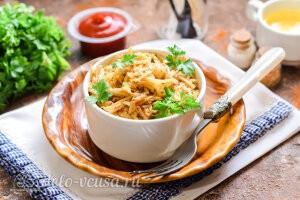 Картофель по-корейски готов
