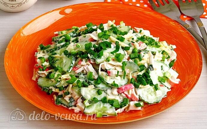 Крабовый салат «Купалинка»