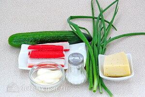 Крабовый салат «Купалинка»: Ингредиенты
