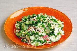 Крабовый салат «Купалинка» готов
