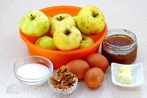 Печеные яблоки с меренгой: Ингредиенты