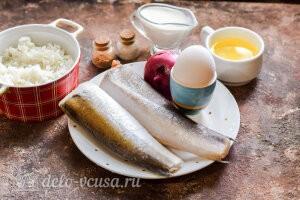 Рыбные тефтели в сливочном соусе: Ингредиенты