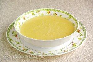 Суп молочный с тыквой и манной крупой готов