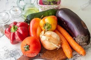 Запеченные овощи «Экспресс-рататуй»: Ингредиенты
