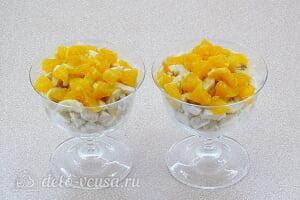 Десерт из зефира с фруктами «Идиллия»: Добавляем апельсин