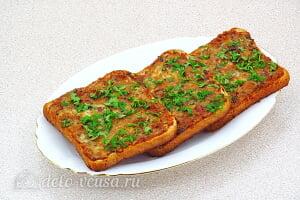 Горячие бутерброды с рыбными консервами в томате готовы