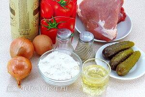 Мясные тефтели по-датски: Ингредиенты