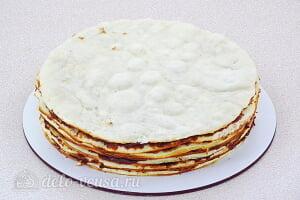 Торт на сковороде «Розалина»: Собираем весь торт