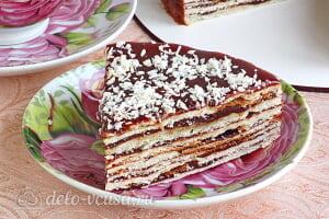 Торт на сковороде «Розалина» готов