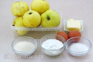 Яблочное суфле с манкой: Ингредиенты
