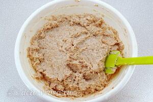 Яблочное суфле с манкой: осторожно перемешиваем