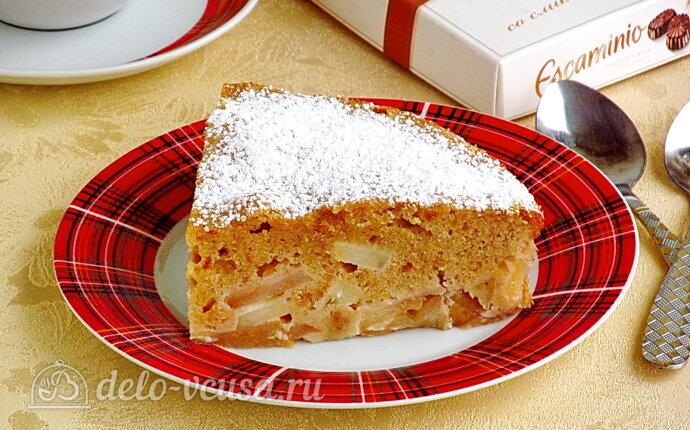 Яблочный пирог из печенья «Винтаж»