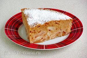 Яблочный пирог из печенья «Винтаж» готов