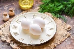 Белковый омлет на пару диетический: Ингредиенты