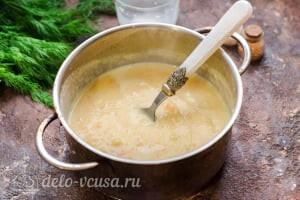 Суп-пюре из цветной капусты: Варим суп из цветной капусты до готовности
