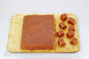 Татлы – домашняя помадка по-татарски: Порезать помадку кубиками