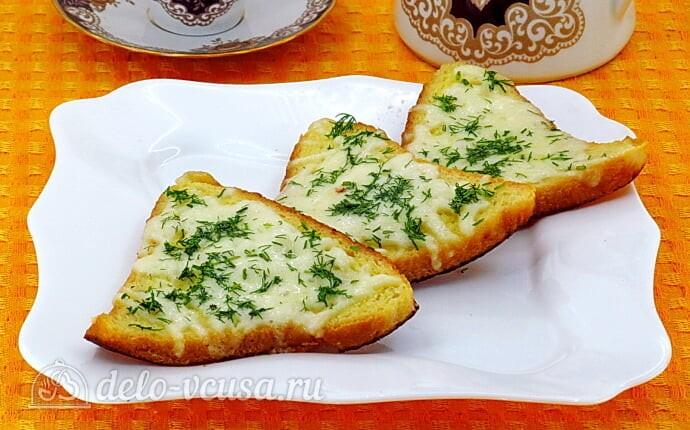 Горячие бутерброды с сыром по-французски