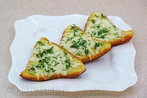 Горячие бутерброды с сыром по-французски готовы