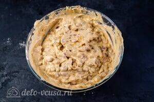 Рождественский кекс с цукатами и коньяком: Перемешиваем тесто