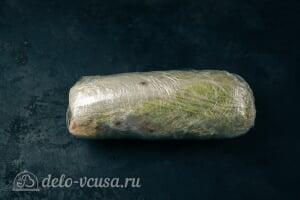 Фаршированная пекинская капуста на закуску6 Прячем закуску в холодильник