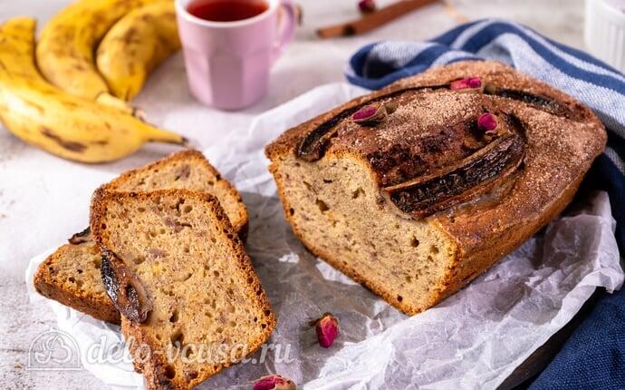 Банановый хлеб – самый простой рецепт