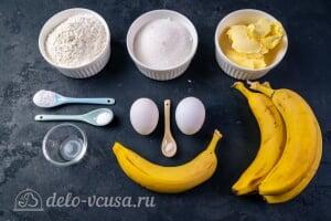 Банановый хлеб – самый простой рецепт: Ингредиенты